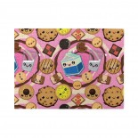 Kawaii Milk Cookies Wooden Puzzles,Fun Puzzles,Decompression puzzles family leisure,500PCS,Wooden.
