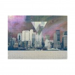 Hipster City Wooden Puzzles,Fun Puzzles,Decompression puzzles family leisure,500PCS,Wooden.