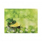Gold Coins In Clover Leaf And Flower For St. Patrick's Day Wooden Puzzles,Fun Puzzles,Decompression puzzles family entertainment,500PCS,Wooden.