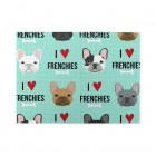 Frenchie Dog Wooden Puzzles,Fun Puzzles,Decompression puzzles family entertainment,500PCS,Wooden.