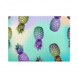 Colorful Pineapple (2) Wooden Puzzles,Fun Puzzles,Decompression puzzles family leisure,500PCS,Wooden.