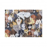 Pupper Party Wooden Puzzles,Fun Puzzles,Decompression puzzles family leisure,500PCS,Wooden.