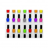 Rainbow Nail Polish Wooden Puzzles,Fun Puzzles,Decompression puzzles family leisure,500PCS,Wooden.