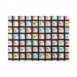 Science Fair Periodic Table Wooden Puzzles,Fun Puzzles,Decompression puzzles family entertainment,500PCS,Wooden.